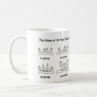 funny 20 toes:  adult humor coffee mug