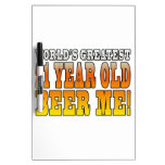 Funny 21st Birthdays : Worlds Greatest 21 Year Old Dry-Erase Whiteboard
