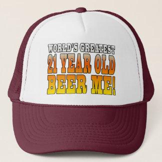 Funny 21st Birthdays : Worlds Greatest 21 Year Old Trucker Hat