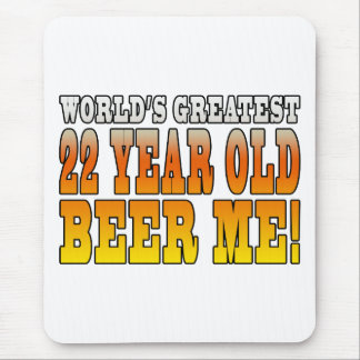 Funny 22nd Birthdays : Worlds Greatest 22 Year Old Mouse Pad