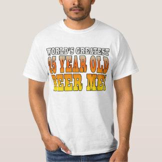 Funny 25th Birthdays : Worlds Greatest 25 Year Old T-Shirt