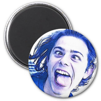 funny 2 inch round magnet