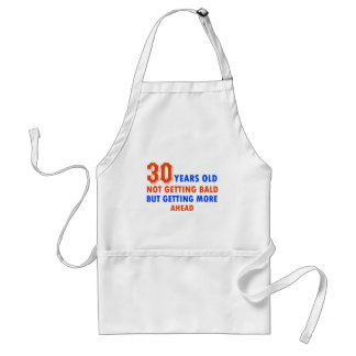 funny 30 years old birthday design adult apron