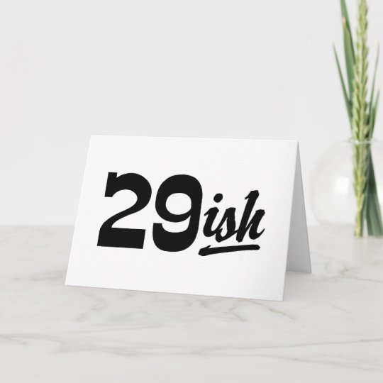 Funny 30th Birthday Card