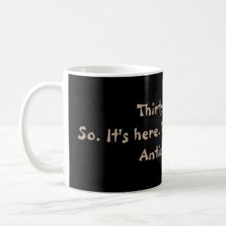 Funny 30th Birthday Haiku Mug