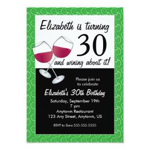 Funny 30th Birthday Invitations Announcements Zazzle