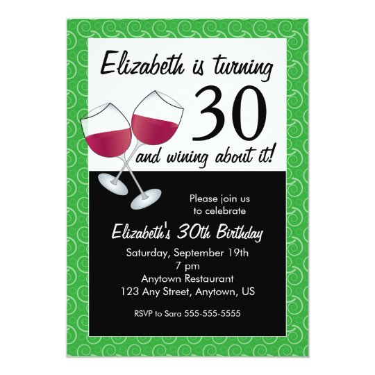 30th Birthday Invitations & Announcements