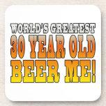 Funny 30th Birthdays : Worlds Greatest 30 Year Old Drink Coaster