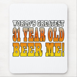 Funny 31st Birthdays : Worlds Greatest 31 Year Old Mouse Pad