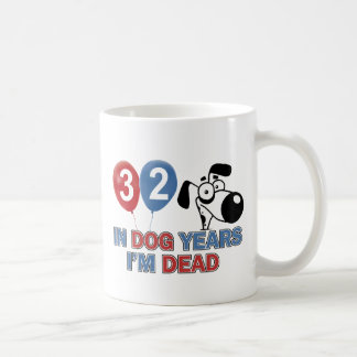 Funny 32 year old designs classic white coffee mug
