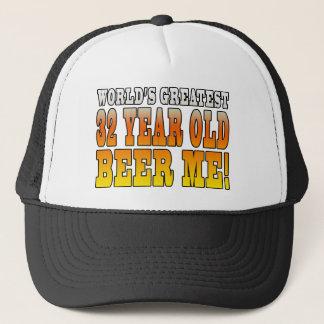 Funny 32nd Birthdays : Worlds Greatest 32 Year Old Trucker Hat