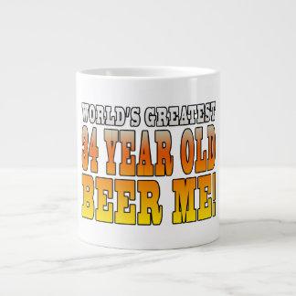 Funny 34th Birthdays : Worlds Greatest 34 Year Old Giant Coffee Mug