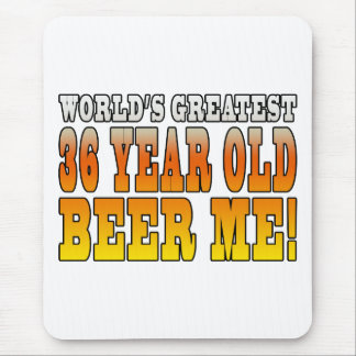 Funny 36th Birthdays : Worlds Greatest 36 Year Old Mouse Pad
