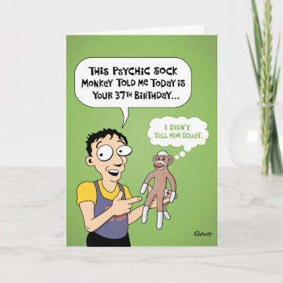 Happy 37th Birthday Prairie Dog Greeting Card
