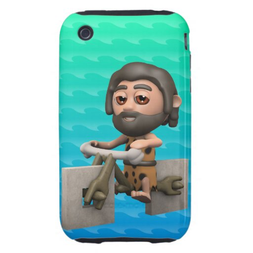 Funny 3d Caveman Bike Square Wheels iPhone 3 Tough Covers | Zazzle: www.zazzle.com/funny_3d_caveman_bike_square_wheels_case...