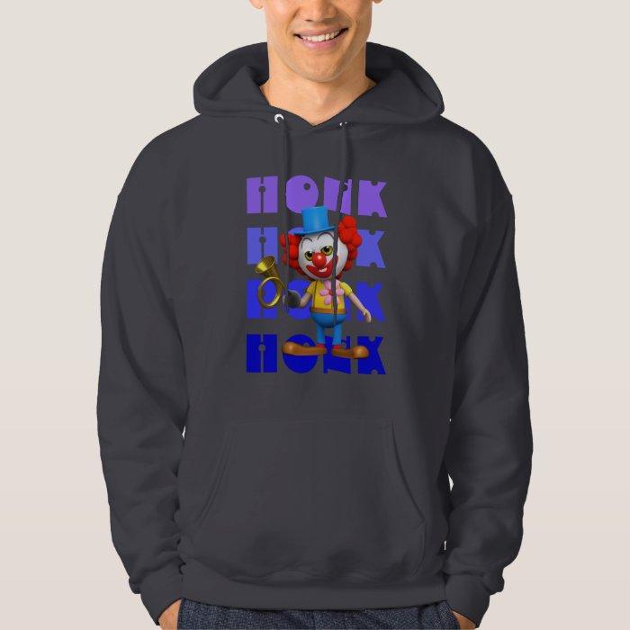 Funny  3d Clown Horn Honk Honk! Hoodie