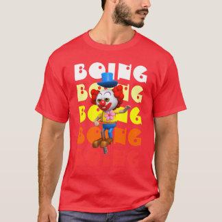Funny 3d Clown Pogo T-Shirt