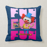 Funny 3d Clown with Abacus Pillows