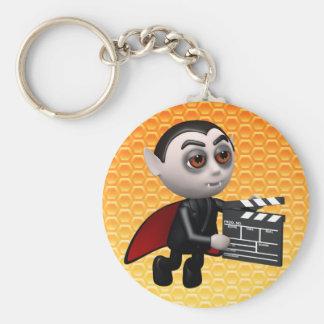 Funny 3d Dracula Vampire Movie Key Chain