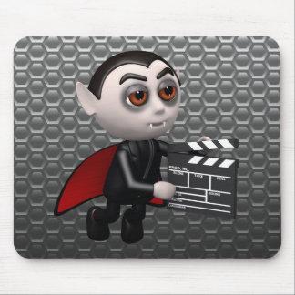 Funny 3d Dracula Vampire Movie Mouse Pad