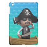 Funny 3d Pirate Ship iPad Mini Covers