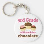 Funny 3rd Grade Teacher Keychain