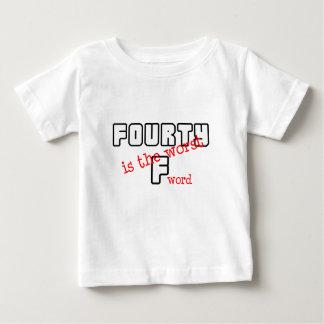 "Funny, ""40th Birthday"" design Baby T-Shirt"