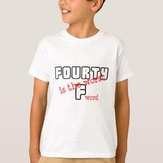 "Funny, ""40th Birthday"" design T-Shirt"
