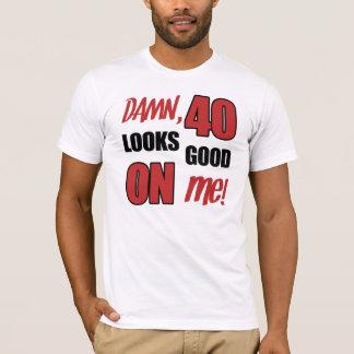 Funny 40th Birthday Gag Gift T-Shirt