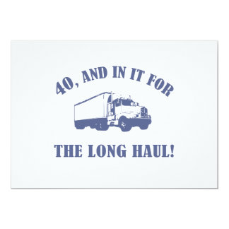 Funny 40th Birthday Gift Card
