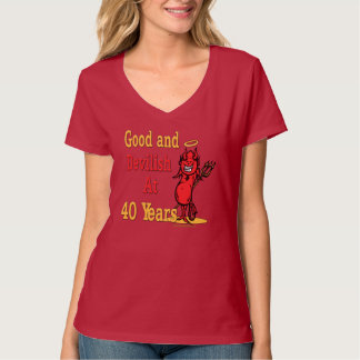 Funny 40th Birthday Gifts T-Shirt