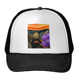 Funny 40th Birthday Mesh Hats