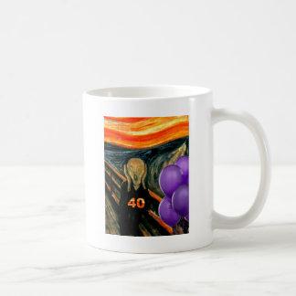 Funny 40th Birthday Classic White Coffee Mug