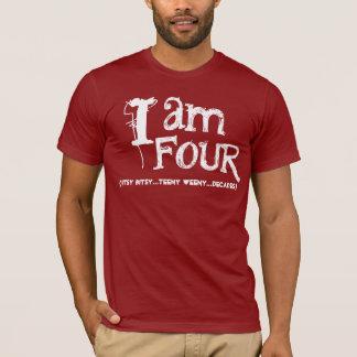 Funny 40th  Birthday Shirt  I am Four Decades
