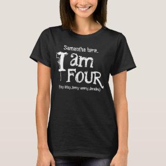 Funny 40th  Birthday Shirt  I am Four Decades A02