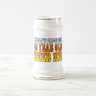 Funny 43rd Birthdays : Worlds Greatest 43 Year Old Beer Stein