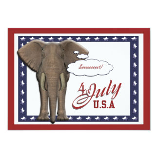 Funny 4th July independence day Card