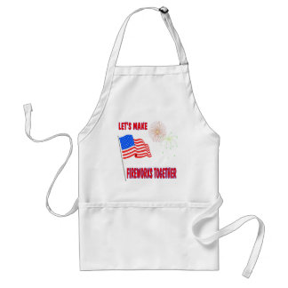 Funny 4th of July Adult Apron