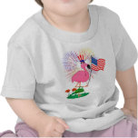 Funny 4th of July Flamingo Shirt