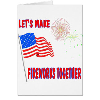 Funny 4th of July Greeting Card
