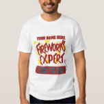 Funny 4th of July Independence Fireworks Expert T-Shirt