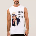 Funny 4th of July Sleeveless Shirt