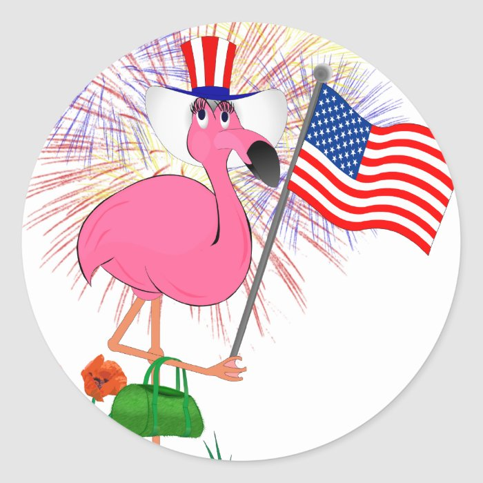 Funny 4th of July Sticker