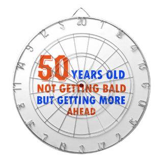 funny 50 years birthday dartboards