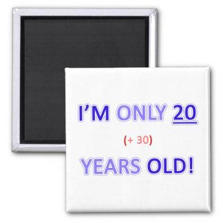 Funny 50th Birthday Gag Gift Magnet
