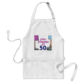 Funny 50th Birthday Gift Apron