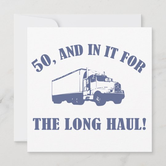 Funny 50th Birthday Gift Card