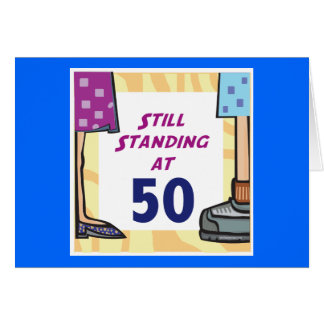 Funny 50th Birthday Gift Greeting Cards