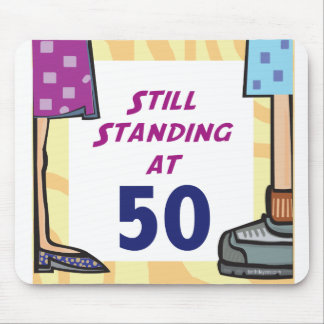 Funny 50th Birthday Gift Mouse Pad