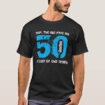 Funny 50th Birthday Gift On Top of the World A01